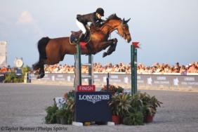 California (L'Esprit x Libero H) with Edwina Tops-Alexander, 1st place Miami LGCT
